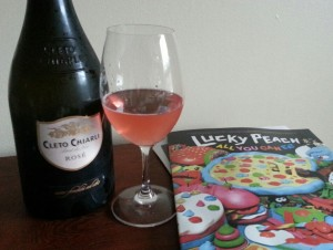 Pairs well with Lucky Peach!
